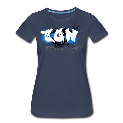 TGW Black and blue edition - Women's Premium T-Shirt