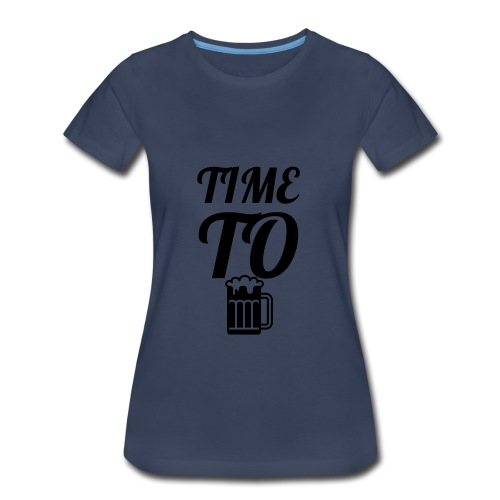 Time To Drink - Women's Premium T-Shirt