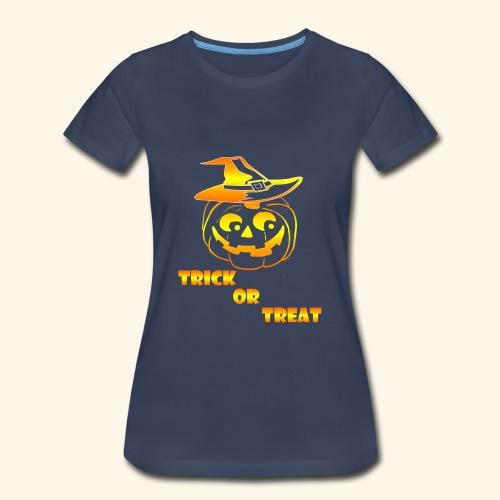 Halloween Trick or treat - Women's Premium T-Shirt