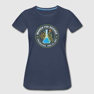 March for Science Philadelphia 2017 - Women's Premium T-Shirt