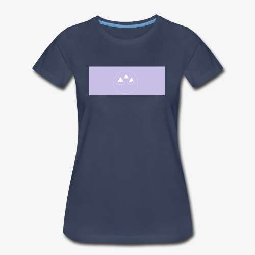 mountians shirt design - Women's Premium T-Shirt