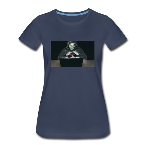 The Official Anonymus Logo - Women's Premium T-Shirt
