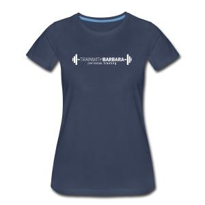 TWB White Logo - Women's Premium T-Shirt