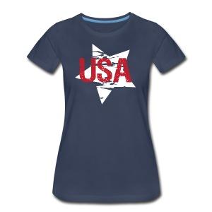 USA! - A stylish 4th July collection - Women's Premium T-Shirt