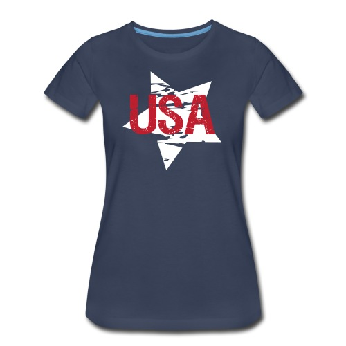 USA! - A stylish 4th July collection - Women's Premium T-Shirt