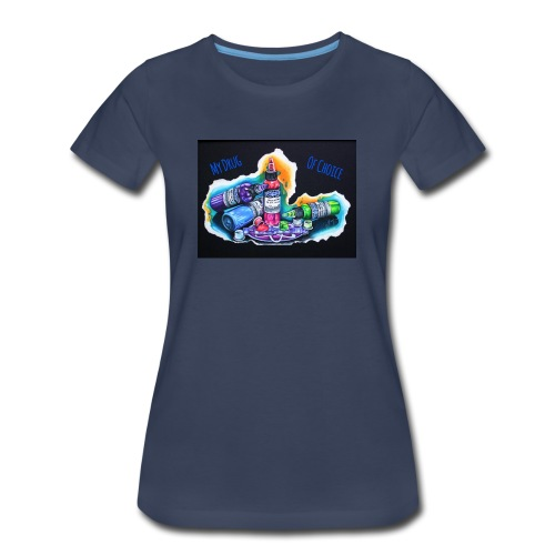 drug of choice - Women's Premium T-Shirt