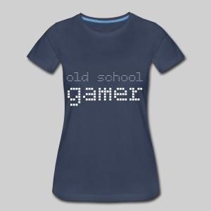 Old School Gamer - Women's Premium T-Shirt