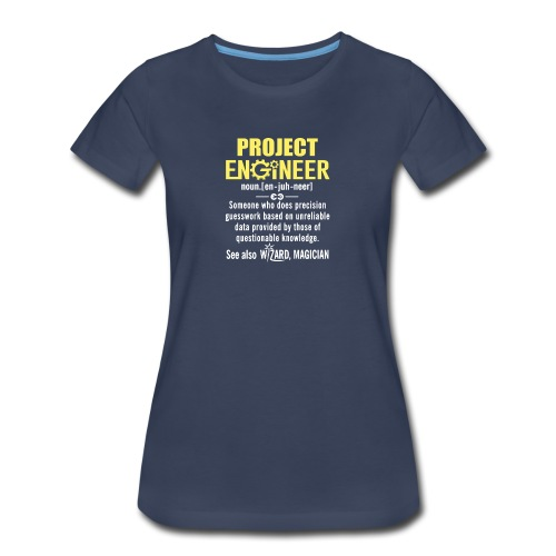 mechanical engineering Definition - Women's Premium T-Shirt