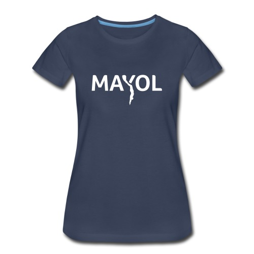 Mayol Godfather Of Freediving - Women's Premium T-Shirt