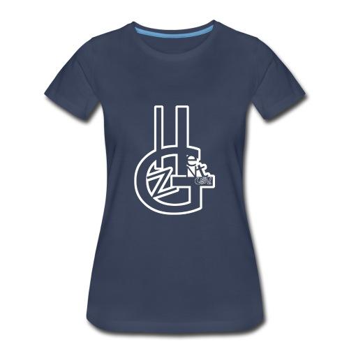 hgzent white outlite - Women's Premium T-Shirt