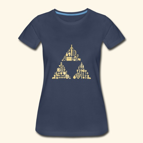 Zelda Triforce - Women's Premium T-Shirt