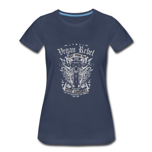 Vegan Rebel - Women's Premium T-Shirt