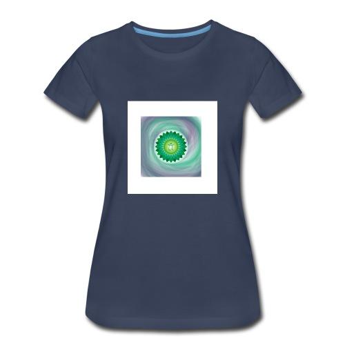 Heart Chakra - Women's Premium T-Shirt