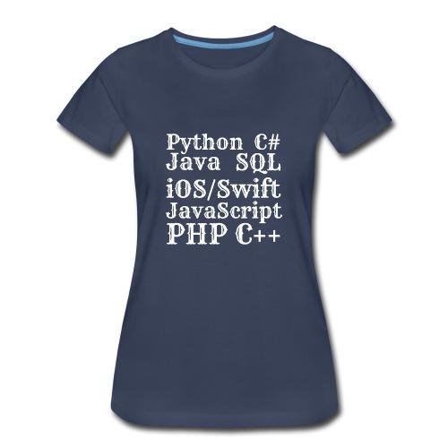 Programmer - Women's Premium T-Shirt