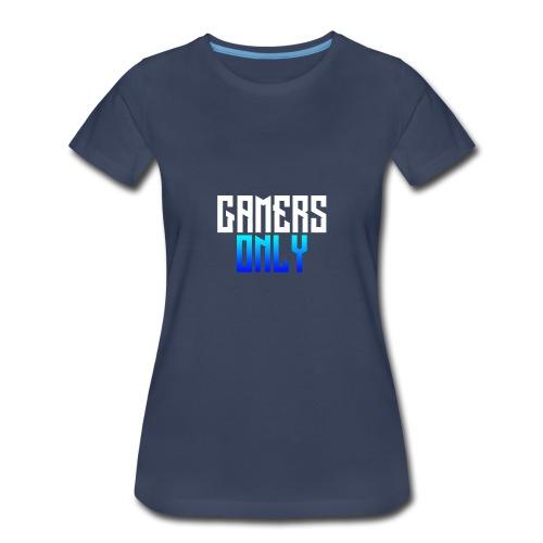 Gamers only - Women's Premium T-Shirt