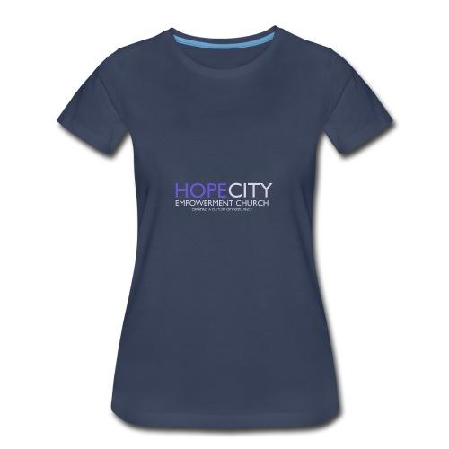 Hope City Empowerment Church - Women's Premium T-Shirt