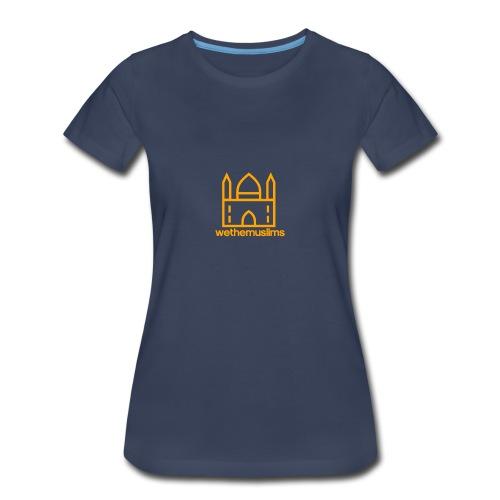 WeTheMuslims Official Merchandise - Women's Premium T-Shirt