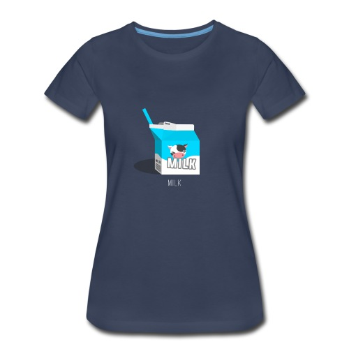 Milk - Women's Premium T-Shirt