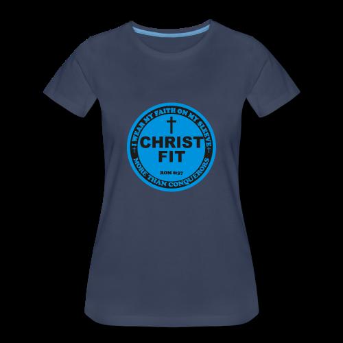 Round Christ Fit label - Women's Premium T-Shirt