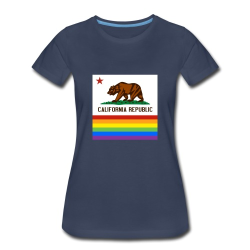 California Pride Flag - Women's Premium T-Shirt