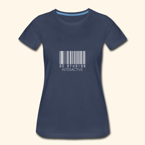 GCSTUDIOSINTERACTIVE WHITE LOGO - Women's Premium T-Shirt