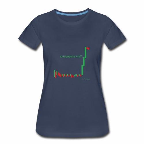 ex-squeeze me? - Women's Premium T-Shirt