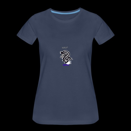 wolfnation-logo-large - Women's Premium T-Shirt