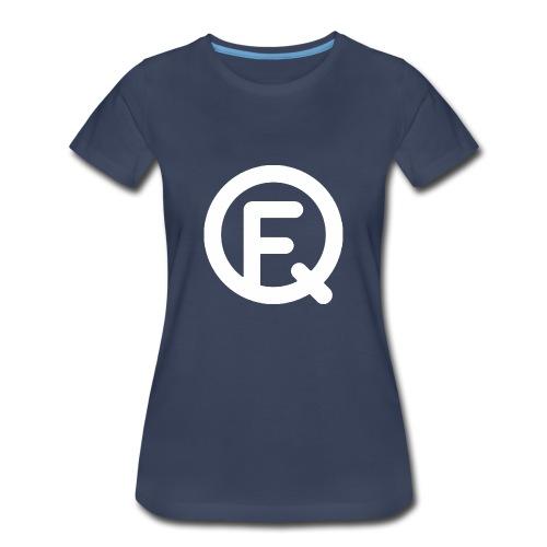 Fq White Logo - Women's Premium T-Shirt