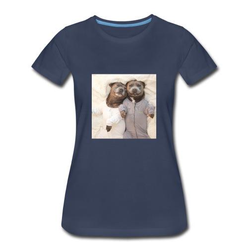 cute pitbull brothers - Women's Premium T-Shirt