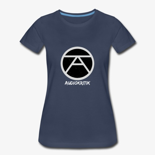 AudioKritik Icon with name - Women's Premium T-Shirt