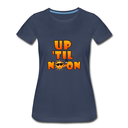 Up Til Noon Water Bottle - Women's Premium T-Shirt