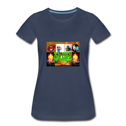 ZealisReal Banner - Women's Premium T-Shirt
