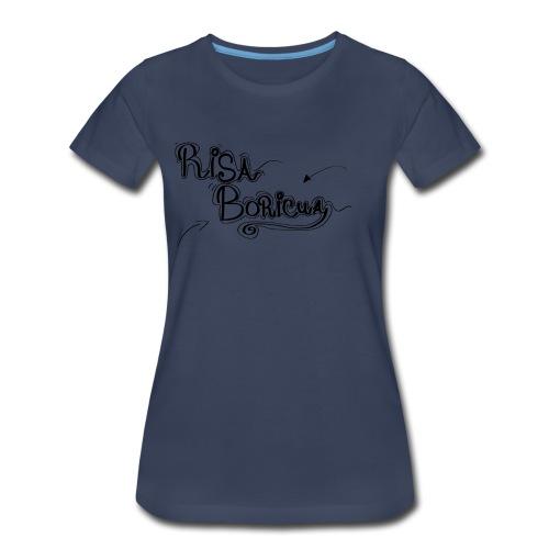 Risa Boricua Clothing and Accessories - Women's Premium T-Shirt
