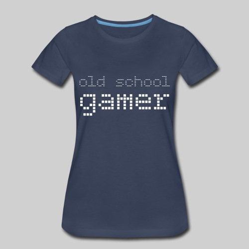 Old School Gamer - Women's Premium T-Shirt