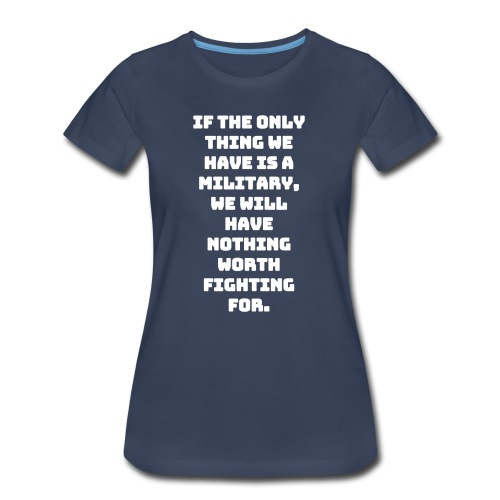 Military white - Women's Premium T-Shirt