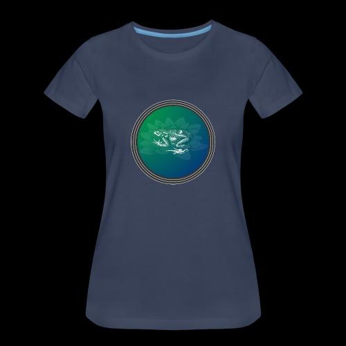 Vintage Frog - Women's Premium T-Shirt