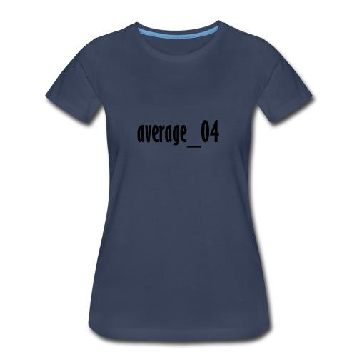 average_04 merch - Women's Premium T-Shirt