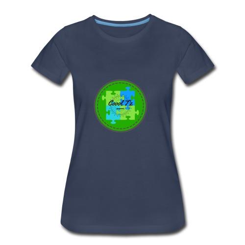 Coool T'z Green - Women's Premium T-Shirt