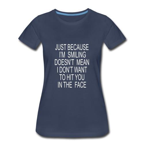hit you - Women's Premium T-Shirt