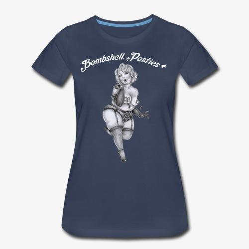 Bombshell Pasties + - Women's Premium T-Shirt