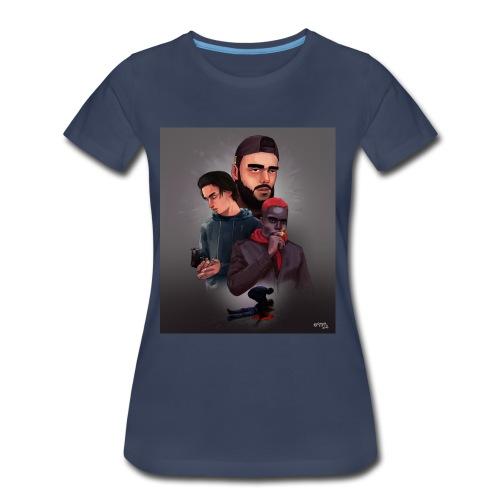 Pnl naha baby onizuka - Women's Premium T-Shirt