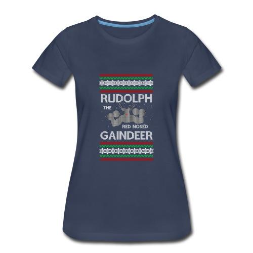 Rudolph the Gaindeer - Women's Premium T-Shirt