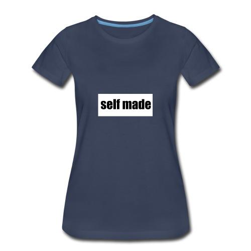 self made tee - Women's Premium T-Shirt
