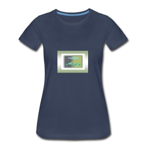 Publicac a o2verde - Women's Premium T-Shirt