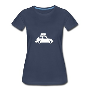 White Beetle - Women's Premium T-Shirt