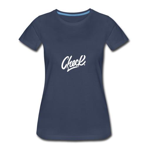 Check hoodie - Women's Premium T-Shirt