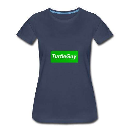 TurtleGuyYT Fan LOGO - Women's Premium T-Shirt
