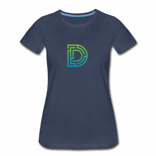 Green-Blue DMaze - Women's Premium T-Shirt