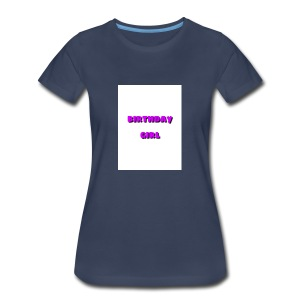 bday girl - Women's Premium T-Shirt
