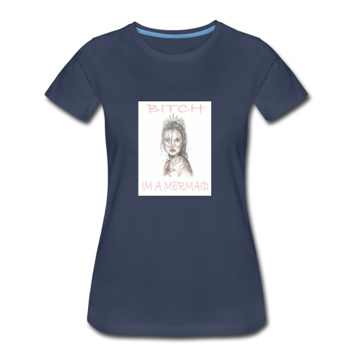 MermaidDeisgn_#1 - Women's Premium T-Shirt